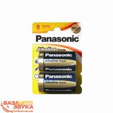 Элемент питания Panasonic ALKALINE POWER D BLI 2 (LR20REB/2BP)