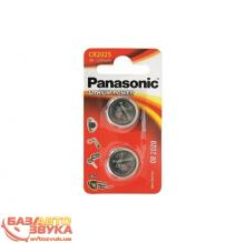Батарейки Panasonic CR 2025 BLI 1 LITHIUM (CR-2025EL/1B)