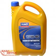 Моторное масло Yukoil SEMISYNTHETIC 10W-40  5л