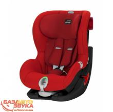 Кресло BRITAX-ROMER KING II LS BLACK SERIES Flame Red 2000025262