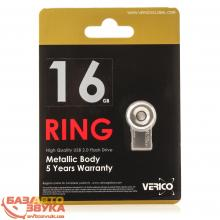 Флеш память Verico USB 16Gb Ring Silver VR17-16GSL1G