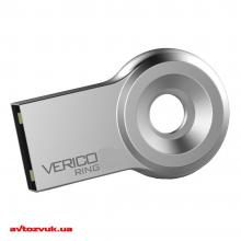 Флеш память Verico USB 8Gb Ring Silver USB 2.0 VR17-08GSL1G
