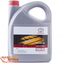 Моторное масло Toyota ENGINE OIL 10W-40 5л (0888080825)