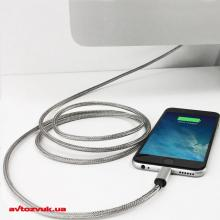 iPhone/iPod/iPad адаптер FuseChicken USB Cable to Lightning Armour Charge 1m (SBC100), Фото 2