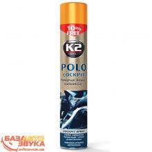 Полироль пластика K2 POLO COCKPIT 750ml K407FR1 fruit