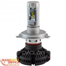LED лампа CYCLON H4 Hi/Low 6000K 6000Lm PH type 7 (2 шт.)
