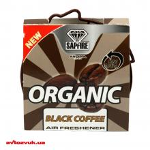 Ароматизатор Sapfire Aroma Car Organic Black Coffee 921021 40г