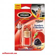 Ароматизатор Aroma Car Wood Strawberry & Blackberry 63117/92708 6мл