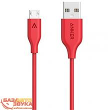 MicroUSB адаптер ANKER Powerline Micro USB - 0.9м V3 Red, Фото 3