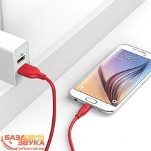 MicroUSB адаптер ANKER Powerline Micro USB - 0.9м V3 Red, Фото 2