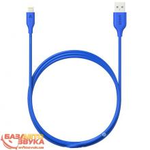 iPhone/iPod/iPad адаптер ANKER Powerline Lightning - 1.8м V3 Blue