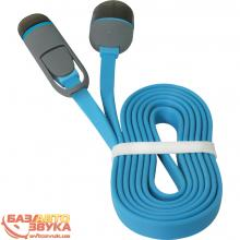 USB адаптер Defender USB10-03BP USB(AM)-MicroUSB+Lightning blue 87487, Фото 5