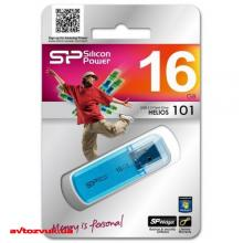 Флеш память Silicon Power 16Gb Helios 101 blue SP016GBUF2101V1B, Фото 5