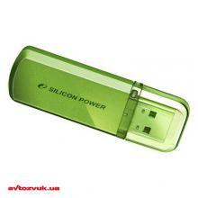 Флеш память Silicon Power 16Gb Helios 101 green SP016GBUF2101V1N, Фото 2