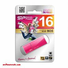 Флеш память Silicon Power 16Gb BLAZE B05 Peach USB3.0 SP016GBUF3B05V1H, Фото 3