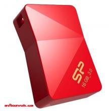 Флеш память Silicon Power 16Gb J08 JEWEL Red USB3.0 SP016GBUF3J08V1R