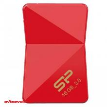 Флеш память Silicon Power 16Gb J08 JEWEL Red USB3.0 SP016GBUF3J08V1R, Фото 3