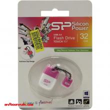 Флеш память Silicon Power 32Gb TOUCH T07 Pink SP032GBUF2T07V1P, Фото 3