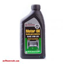 Моторное масло Toyota Synthetic Motor Oil 0W-20 0,946л (002790WQTE)
