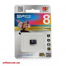 Флеш память Silicon Power MicroSDHC 8GB Class 10 SP008GBSTH010V10, Фото 2