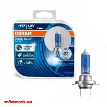 Галогенная лампа Osram H7 Cool Blue Boost 12V 62210CBB-HCB DUO (2шт.)