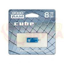 Флеш память Goodram GOODDRIVE Cube Blue 8GB, Фото 2