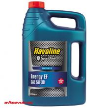 Моторное масло TEXACO HAVOLINE Energy EF 5W-30 4л