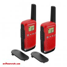 Переносная рация Motorola TALKABOUT T42 RED TWIN PACK