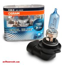 Галогенная лампа Osram COOL BLUE Intense HB3 12V 9005CBI-HCB DUO (2шт.)