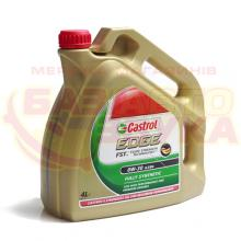 Моторное масло CASTROL EDGE FST 0W-30 4л