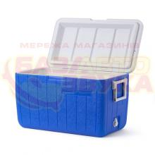 Термобокс Coleman Cooler 48 can stacker blue, Фото 2