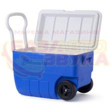 Термобокс Coleman Cooler 50QT whld blue low pro, Фото 2
