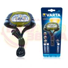Налобный фонарь VARTA Power Line Premium LED x4 Head Light 3AAA 17631, Фото 3