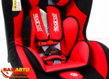 Кресло Sparco F500K red, Фото 2