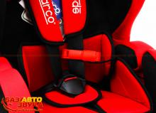 Кресло Sparco F700K red, Фото 2