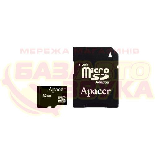 Флеш память Apacer microSDHC 32GB UHS-I Class 10  with adapter: отзывы, характеристики и фото