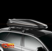 Грузовой бокс THULE TOURING 600 BLACK GLOSSY LEFT SIDE, Фото 2