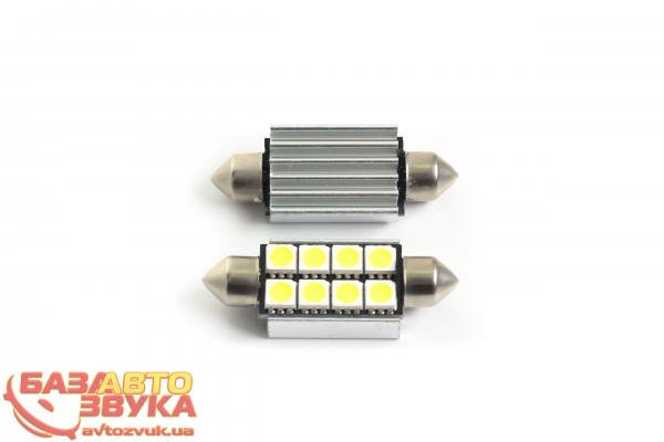 LED лампа iDial 450 Canbus Festoon 41 8 Led 5050 SMD with heatsink (2шт.): отзывы, характеристики и фото