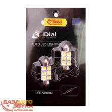 LED лампа iDial 452 Festoon 36 6 Led 5050 SMD (2шт.)