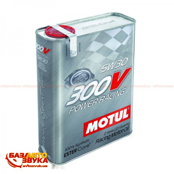 Моторное масло Motul 300V Power Racing 5W30 2л - фото 8