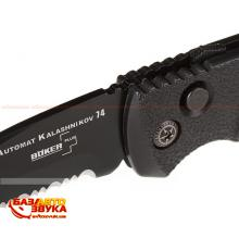 Складной нож Boker Plus Tanto Auto AK 74 Black 01AKS74BT, Фото 4