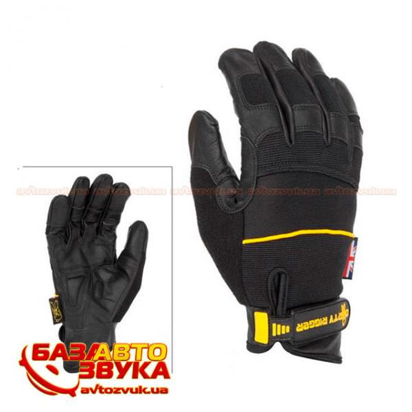 Перчатки DIRTY RIGGER Leather Grip Full Handed DTY-LGRIPLV2 XL