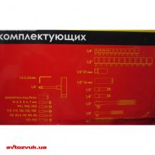 Набор инструментов INTERTOOL HT-2254 2 из 2