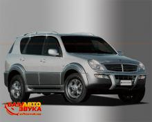 Дефлекторы окон AutoClover SSANG YONG REXTON 2006 AC A064