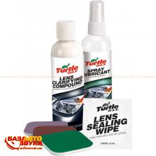 Полироль TURTLE WAX HEADLIGHT RESTORER KIT MULTI FG6690