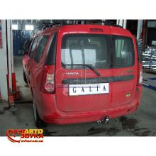 Фаркоп Galia D0376C Dacia Logan MCV kombi, Express, Van, Pick-up 2007-, Фото 3