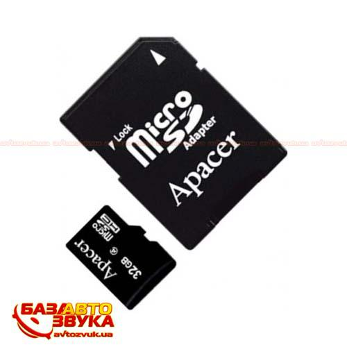 Флеш память Apacer microSDHC 4GB Class 4 with adapter: отзывы, характеристики и фото