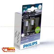LED лампа Philips 129334000KX2 W5W LED GEN2 4 000K (1шт.), Фото 2