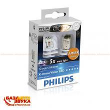 LED лампа Philips X-tremeVision LED PY21W 12V 12764X2 (2шт.), Фото 4