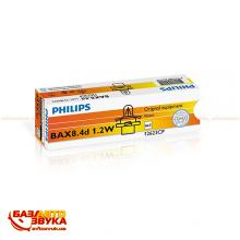 Лампа накаливания Philips 12623CP BAX B8,4d Light Blue (1шт.), Фото 2